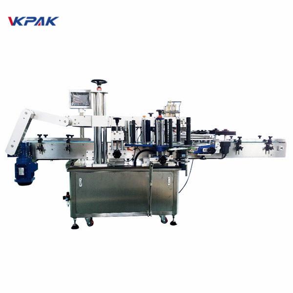 350 ml automatický stroj na nanášanie štítkov s guľatou injekčnou liekovkou