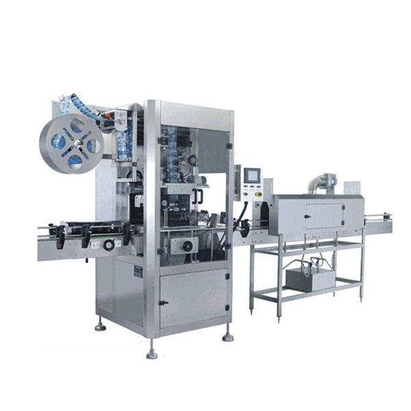 Stroj na označovanie štítkov so zmršťovacím rukávom 5,5 KW