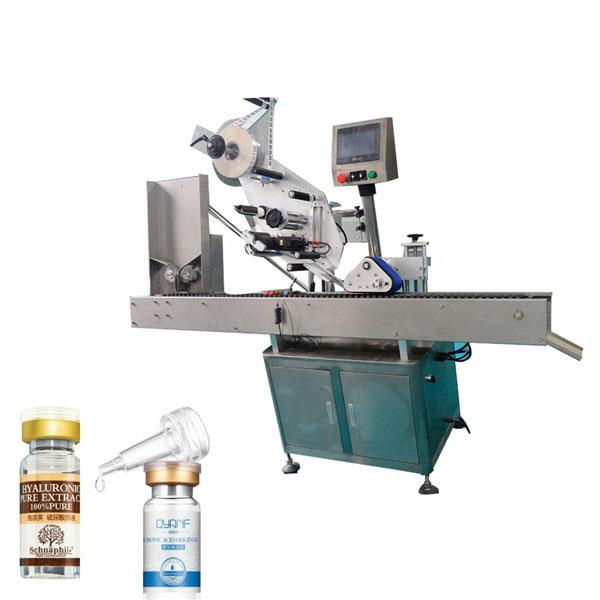 Priemyselný etiketovací stroj z hliníkovej zliatiny Opp na guľatú fľašu