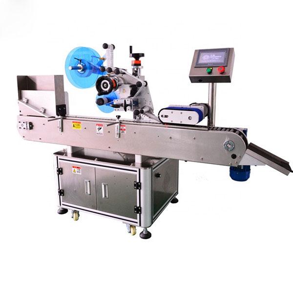 Automatický etiketovací stroj na fľaše Vysoký štandard pre tekutú fľašu E.
