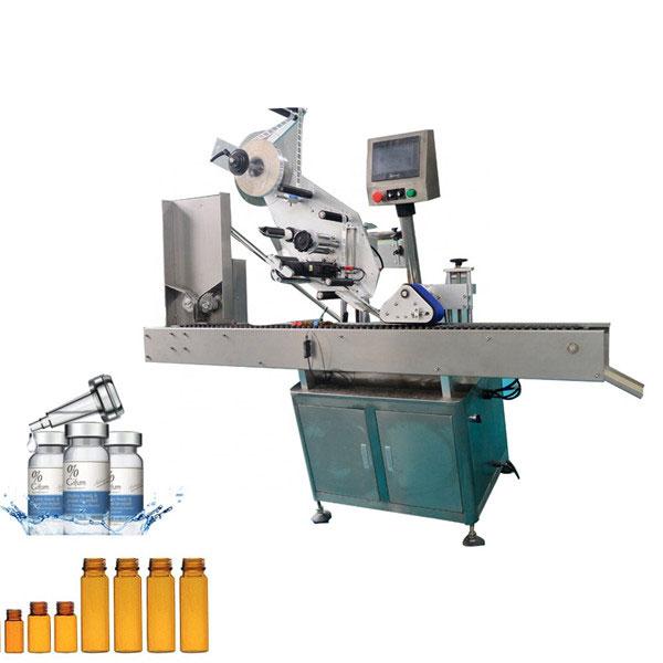 Stroj na označovanie liekoviek s automatickou žuvačkou pre 10 ml malú okrúhlu fľašu