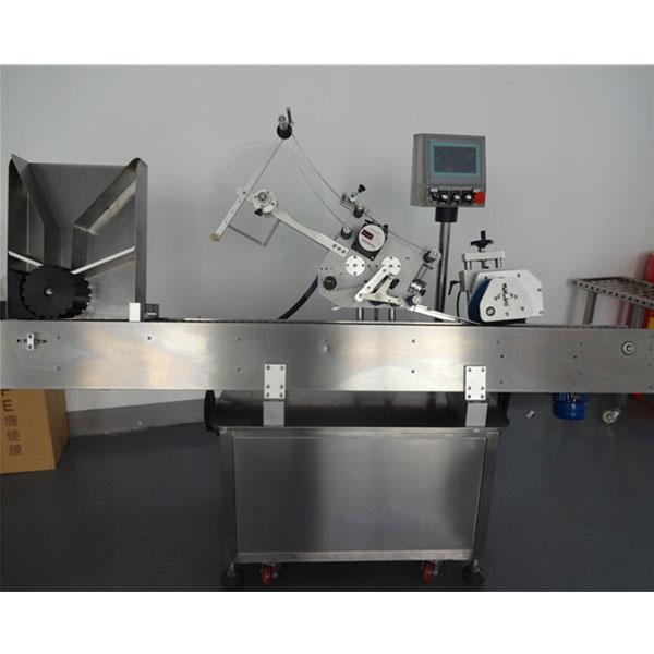 Automatický stroj na označovanie liekoviek s guľatými fľaštičkami