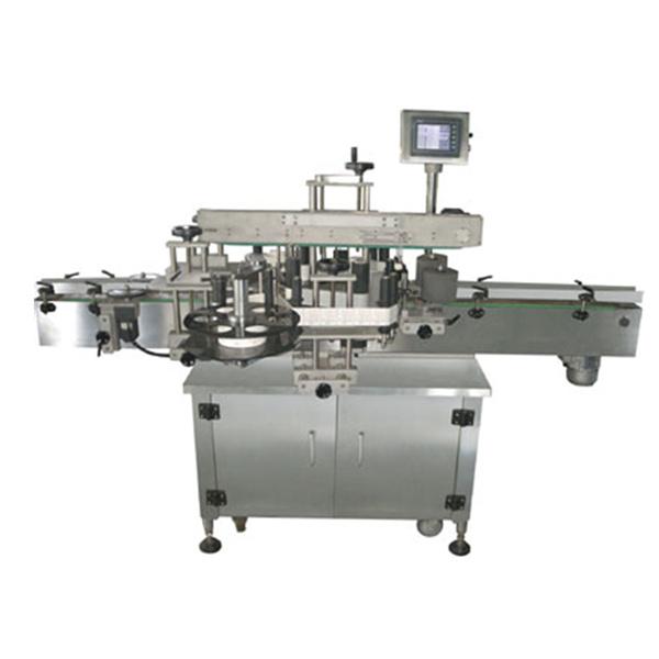 Obojstranný automatický štítkovací štítkovací stroj