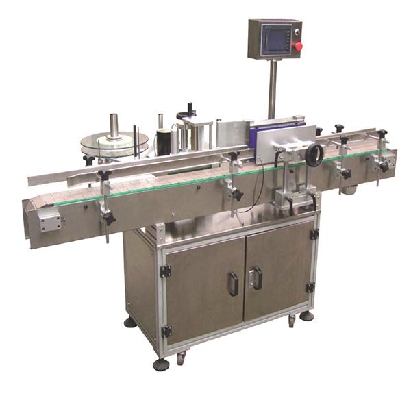 Flexibilný automatický štítkovací štítkovací stroj s obojstrannými papierovými vreckami