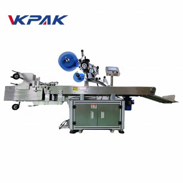 Plne automatický stroj na označovanie vreciek na nanášanie štítkov na plochý povrch