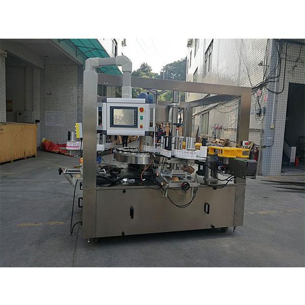 Vysokorýchlostný rotačný štítkovací etiketovací stroj s opaskom voliteľného plniaceho stroja