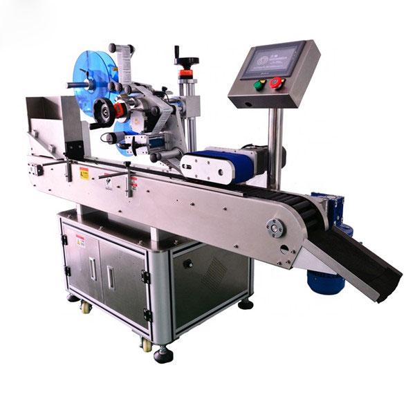 Inteligentné ovládanie Horizontálny etiketovací stroj s malou fľašou 10 ml