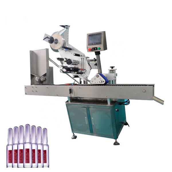 Stroj na označovanie liekoviek automatickou kozmetikou Sus304 Economy