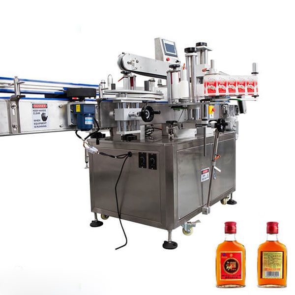 Etiketovací stroj na poháre a okrúhle fľaše s plnou automatickou tyčinkou
