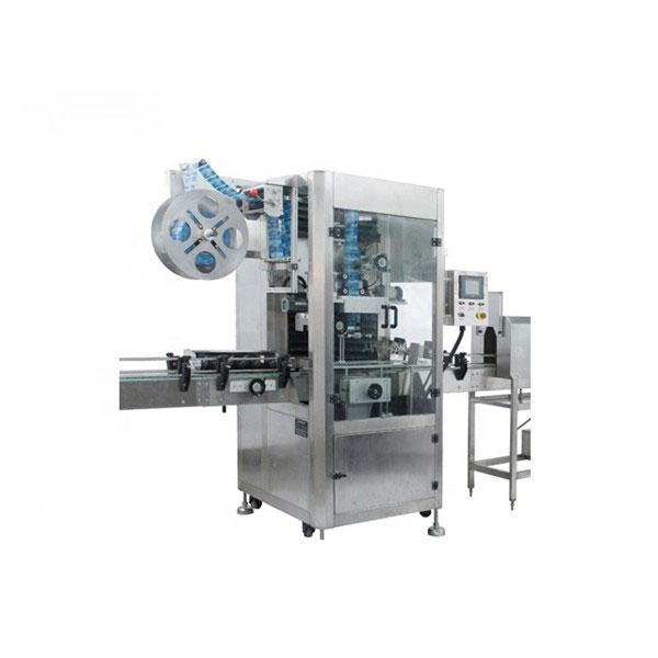 Stroj na nanášanie zmršťovacích fólií z PVC Plne automatický stroj na zmrašťovanie návlekov