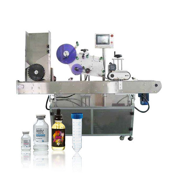 Automatický horizontálny etiketovací stroj so servopohonom Siemens Plc