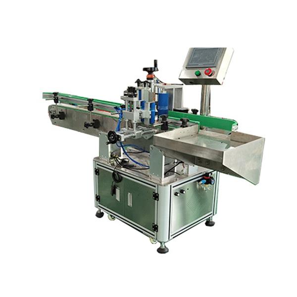 Automatický etiketovací stroj na hranaté a okrúhle fľaše