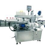 Stroj na označovanie štvorcových fliaš