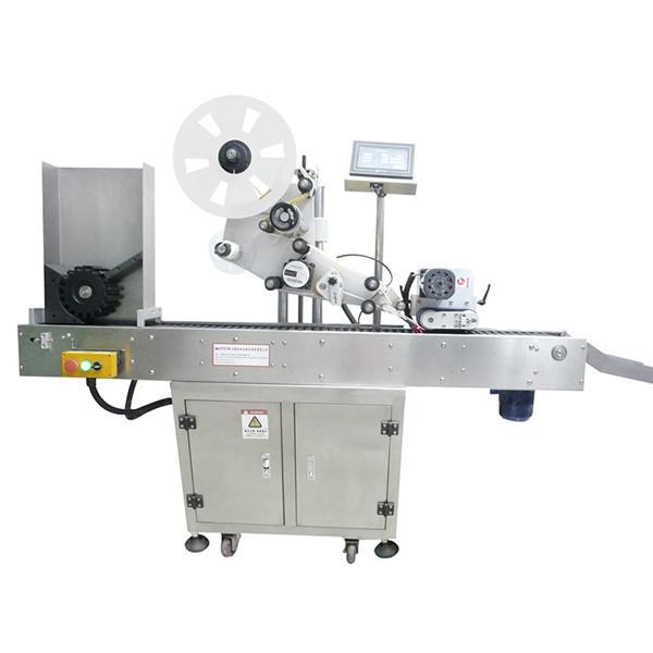 Stroj na značenie liekoviek s nálepkami na gélové laky a nechty