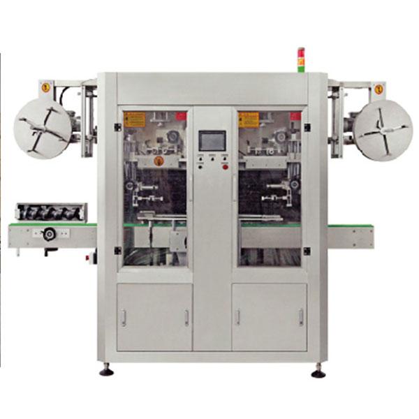 Stroj na označovanie vodným sťahovaním