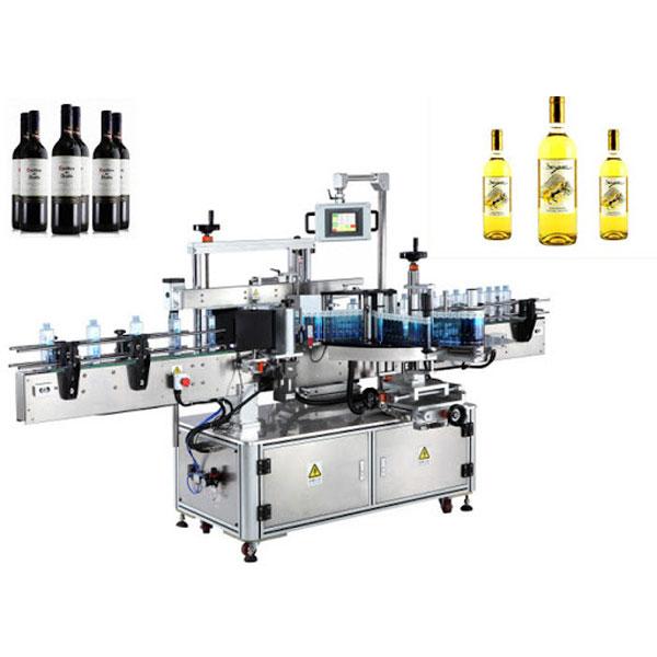 Stroj na nanášanie etikiet na fľaše na víno, etiketovač na fľaše na pivo