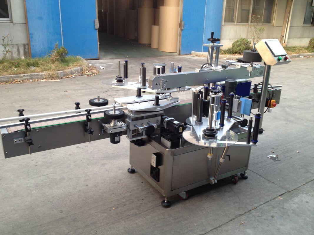 Automatický aplikátor samolepiek na fľaše, automatický štítkovací stroj s hmotnosťou 550 kg