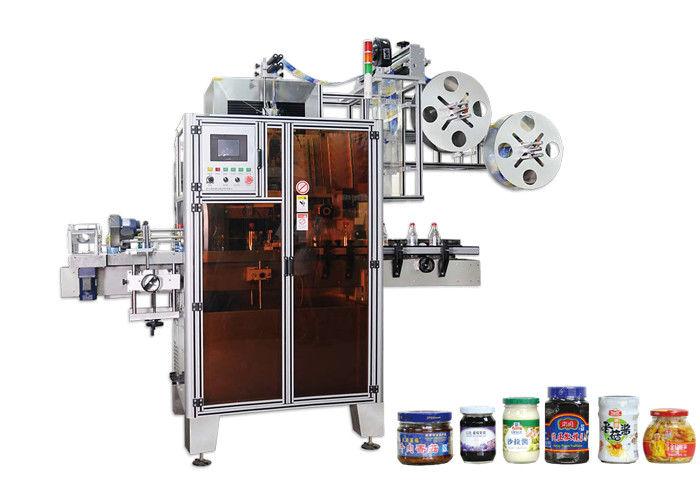 Automatický štítkovací stroj na označovanie zmršťovacích rukávov s vysokou účinnosťou pre úzke miesta
