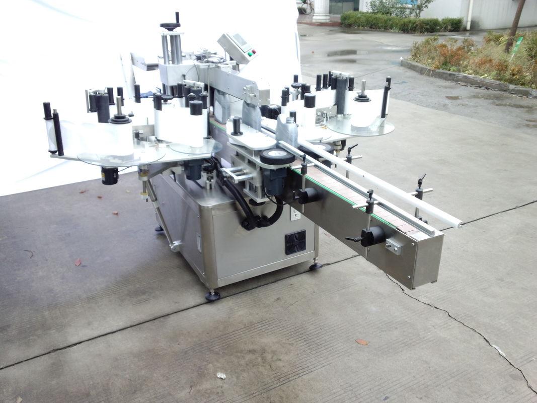 Automatický obojstranný štítkovací štítkovací stroj s prednou a zadnou stranou