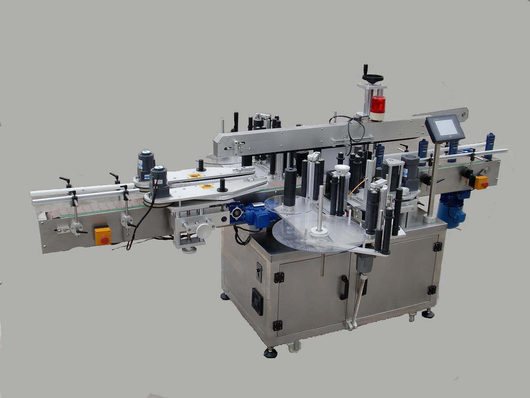 Automatický obojstranný štítkovací štítkovací stroj s vyhľadávacím zariadením a kódovacím strojom