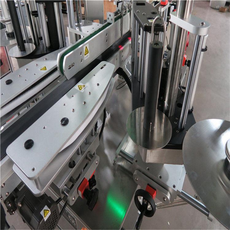 Automatický štítkovací štítkovací stroj CE, štítkovací stroj na predné a zadné fľaše