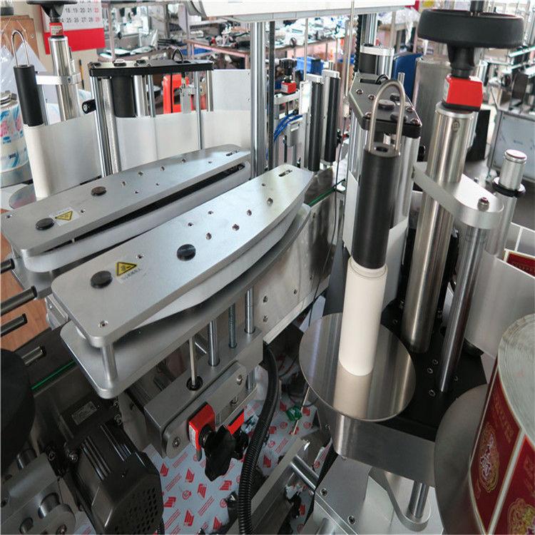 Plne automatický obojstranný samolepiaci štítkovací stroj