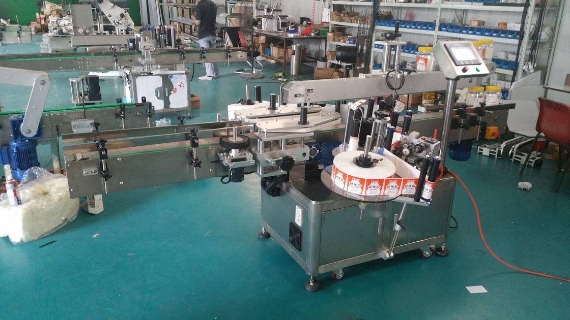 Automatický etiketovací stroj na obojstranné štítky
