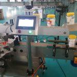 Automatický etiketovací stroj na okrúhle fľaše s dvojitou stranou pre fľašu na pivo