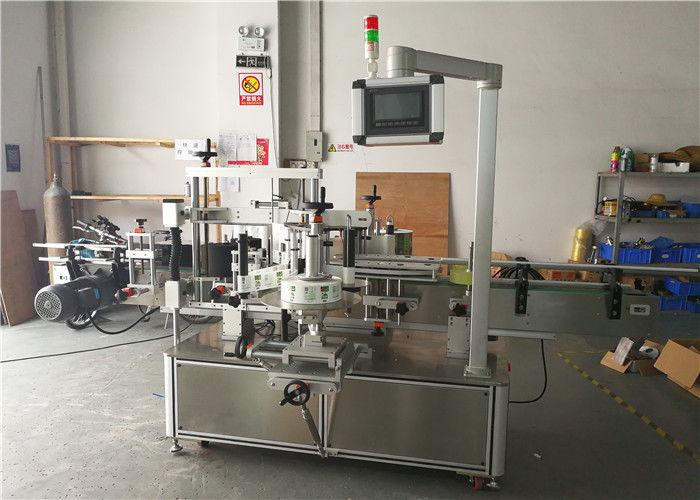 Plne automatické druhy štítkovacích strojov na štítky s okrúhlymi fľašami, vysoká účinnosť
