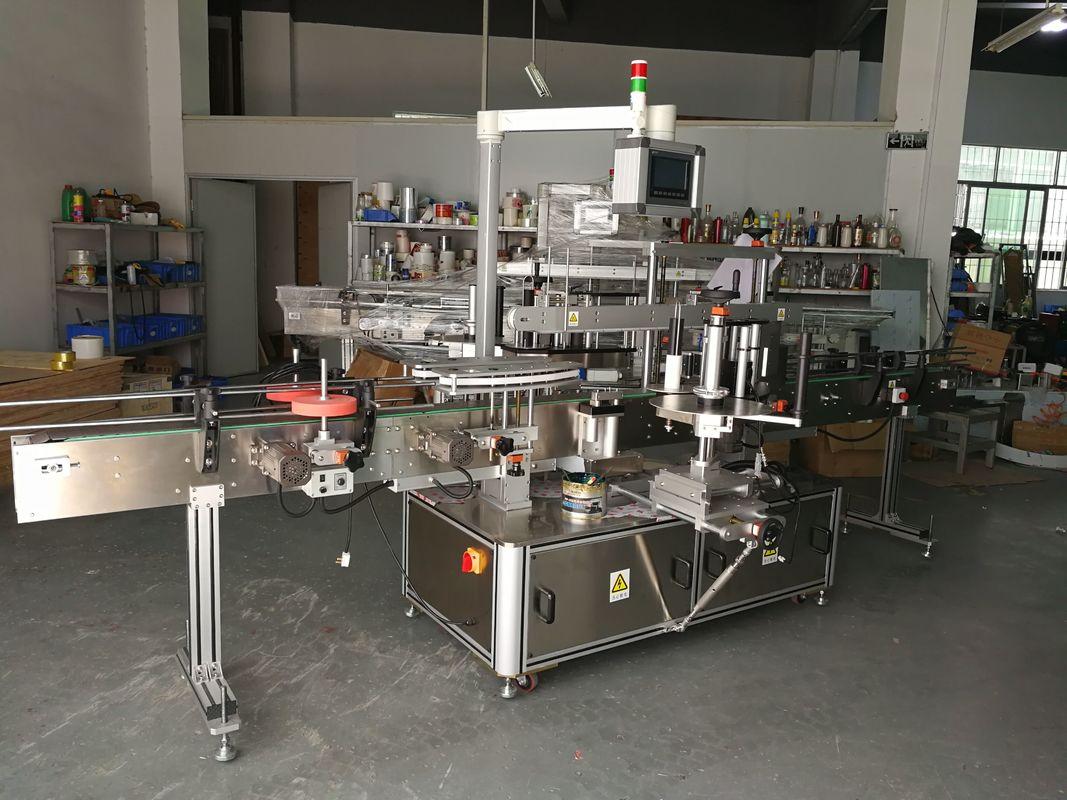 Vysoko presný multifunkčný stroj na označovanie plochých fliaš s elektrickým pohonom