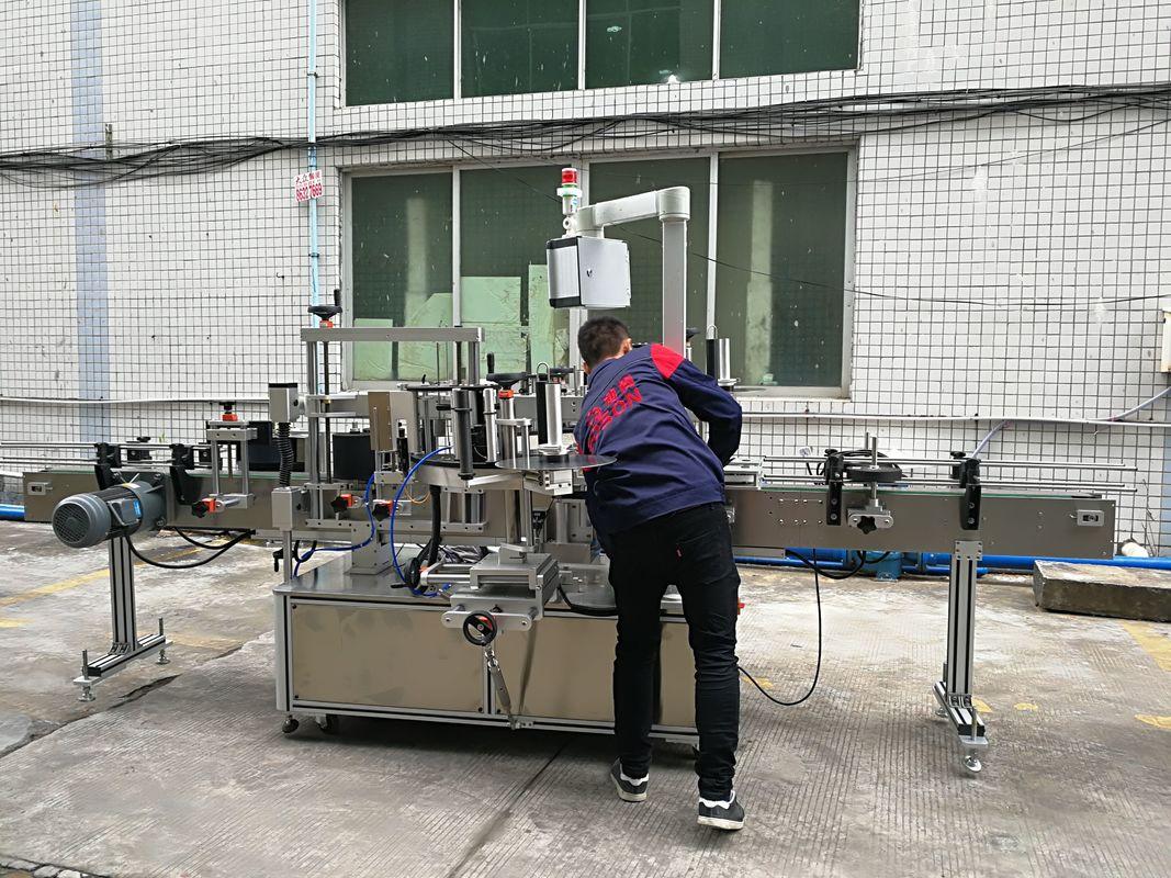 Plne automatický stroj na označovanie fliaš na vodu pre sklenené / PET fľaše