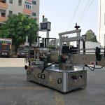 Vysokorýchlostný automatický stroj na nanášanie štítkov na trojstranné hranaté fľaše