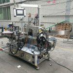 Plnoautomatický lepiaci stroj na obojstranné značenie fliaš s kódovačom