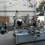Samolepiaci stroj na označovanie valcových / oválnych fliaš s dotykovou obrazovkou PLC