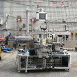 Automatický lepiaci stroj na označovanie štvorcových fliaš obojstranne