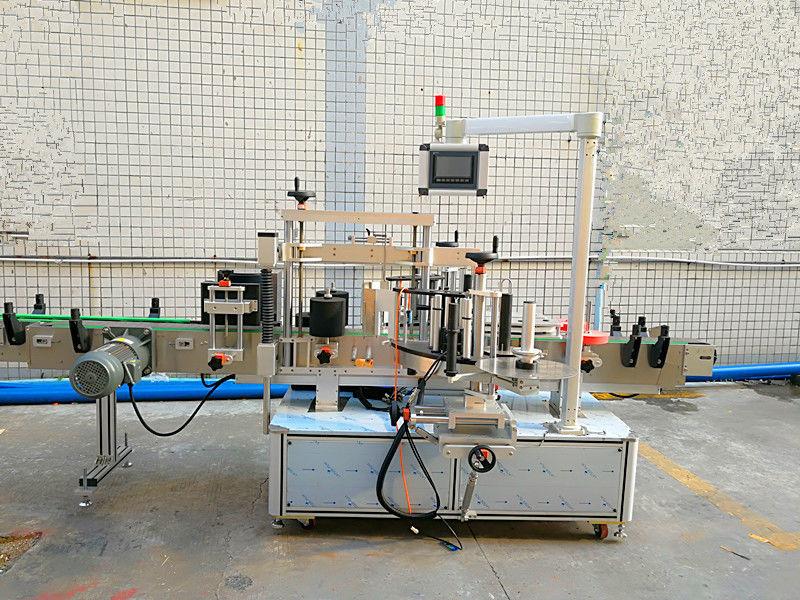 Jednoduchý automatický predný a zadný štítkovací stroj s obojstrannou stranou