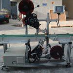 Vysoko efektívny špičkový etiketovací stroj s deleným pásovým dopravníkom