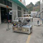 Trojstranný automatický stroj na označovanie štvorcových fliaš s elektrickým pohonom