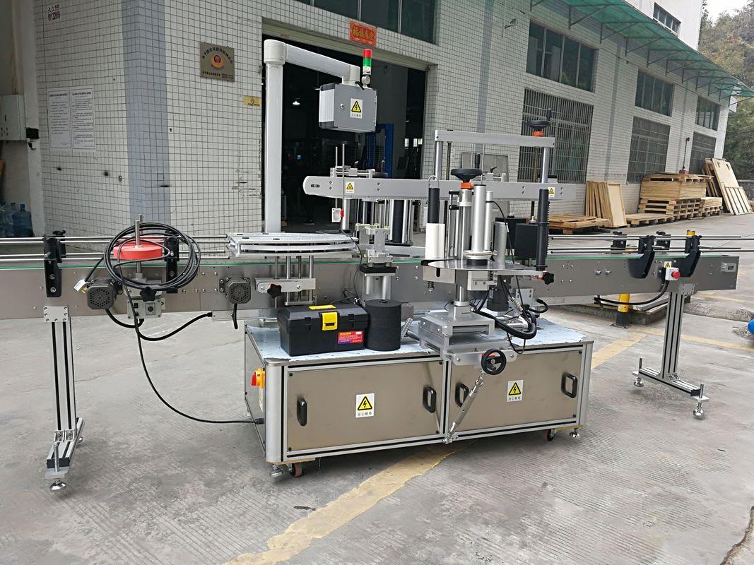 Plne automatický štítkovací štítkovací stroj na štítky s rohmi 220V 50HZ 1200W