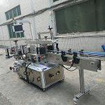 Samolepiaca samolepka obojstranný stroj na označovanie fliaš plne automatický